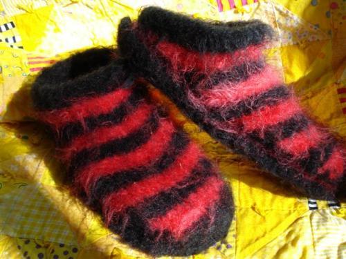 Slippers sans feet