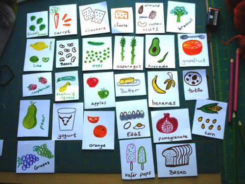 food-cards