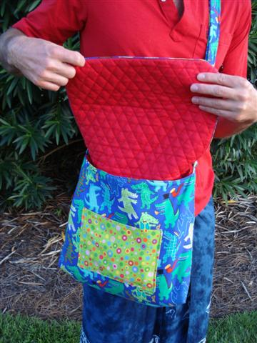 gator bag flap