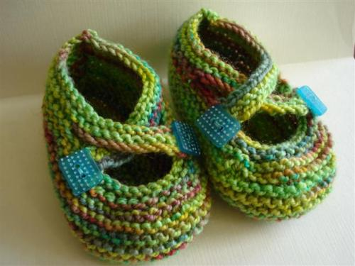 Minty Booties (Small)