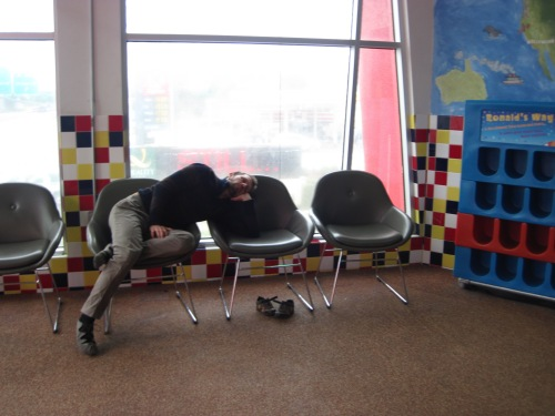 asleep in playland