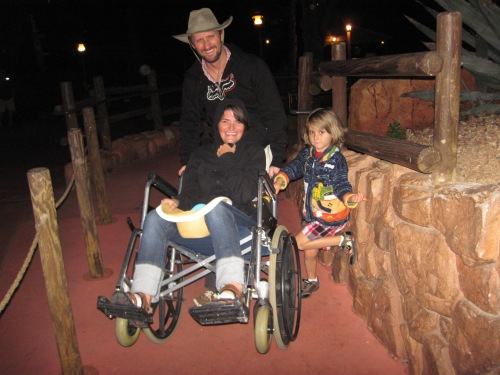 WDW 01-05 wheelchair ride of terror